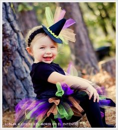 Witch Costume Tutu for Baby girls infant Halloween set with mini witch hat choose from sizes months -RAINBOW WITCH  sc 1 st  Pinterest & Laney is 6 months old! | Pinterest | Portraits Photography and Costumes