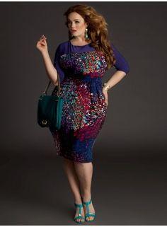 Plus Size Dress Plus Size Fashion at www.curvaliciousclothes.com