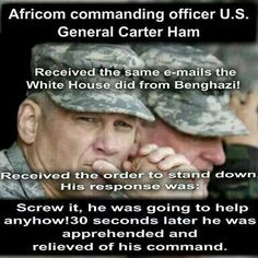 THIS IS WHO HILLARY IS...He was a 4 star general. Only 1 person can decommission a 4 star....the president!!! This country is so damn corrupt it's going to take a war to clean it all up. Start with eliminating the rich elite and work down.