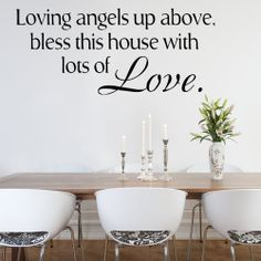 Loving Angels Up Above Wall sticker decals