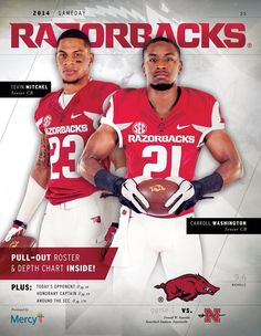 Manuale Watkins Is On The Front Of The Collectible 2015 16 Arkansas