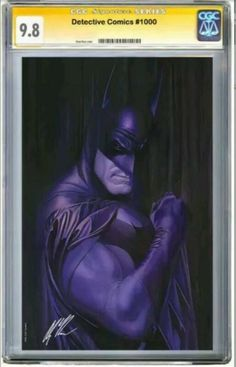 Detective Comics #1000 Gabriele Dell/'Otto 9.6-9.8 Virgin Variant