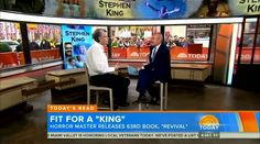 Stephen King on Today Show (Nov 11th, 2014)