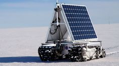 GROVER on the move during a sustained test of the power consumption (Photo: NASA Goddard/M...