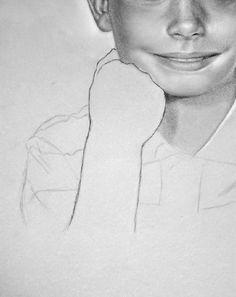 14.- Retrato dibujado paso a paso :: Valero