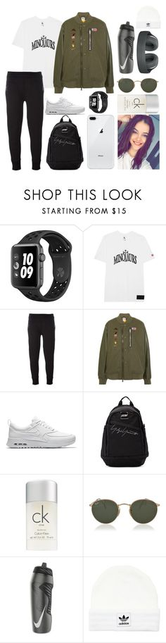 """training"" by sabri-belieber ❤ liked on Polyvore featuring NIKE, Neil Barrett, Yohji Yamamoto, Calvin Klein, Ray-Ban, adidas Originals and Alexander Wang"
