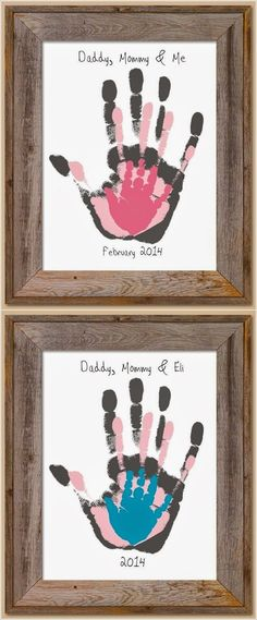 16 New ideas for baby diy painting fun Kids Crafts, Baby Crafts, Diy And Crafts, Craft Projects, Projects To Try, Arts And Crafts, House Projects, Family Crafts, Baby Diy Projects