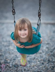 Girl portraiture portrait photography children swing
