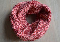 sjaal - goeie tip om sjaal beter te laten vallen