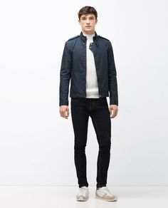 Image 1 of COTTON JACKET from Zara