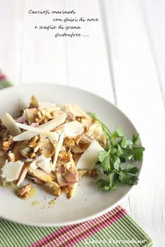 carciofi marinati senza glutine