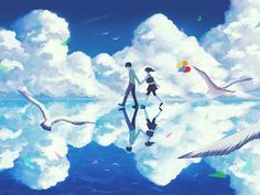 Risultati immagini per anime couple wallpaper for two phone