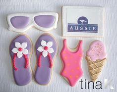 Cake Decorating Classes Hammond La : Summer Decorated Cookies Mouthwatering Morsels - Cookies ...