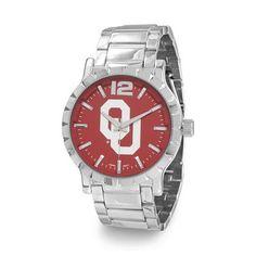 University of Oklahoma Watch - Collegiate Licensed University of Oklahoma Men's Fashion Watch