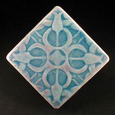 Tulip Tile X Blue Glaze Kitchen Tile Backsplash Tile Fireplace - Cheap 4x4 tiles