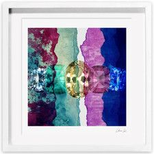 Oliver Gal Texture Study I Framed Painting Print