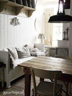 Chandelier! | Living room | Pinterest | White bench, Chandeliers and ...