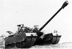 T28 super heavy tank (also called 105 mm Gun Motor Carriage T95) - prototype of heavily armored tank destroyer designed for the United States Army during World War II. It was originally designed to be used to break through German defenses at the Siegfried Line, and was later considered as a possible participant in an invasion of the Japanese mainland.