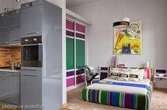 Galeria zdjęć - Styl ludowy - folk w nowoczesnym mieszkaniu. ZDJĘCIA - zdjęcie nr 18 Urzadzamy.pl