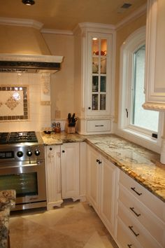 Little French Country Kitchens   My French Kitchen: Je T'aime, French country-inspired kitchen. Total ...