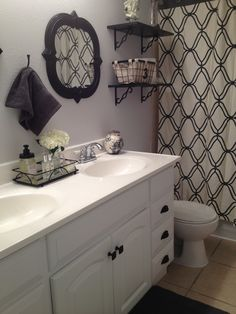 My bathroom makeover