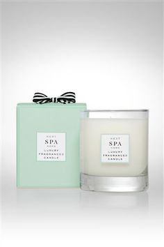 Spa Luxury Fragranced Candle  candles are great in a room!