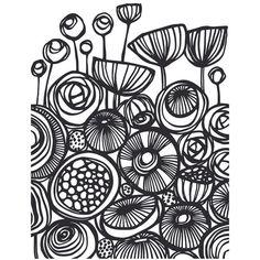 Pop Art Flowers (445.930 VND) ❤ liked on Polyvore featuring home, home decor, wall art, flower stems, pop art, blossom wall art, flower wall art and flower home decor