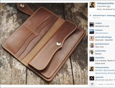 Natural Chromexcel horsefront long wallet interior