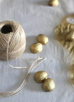 Baumschmuck Nüsse Diy, Weihnachten