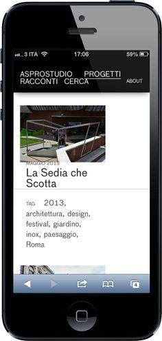 Aspro studio smartphone screen design and development #okcs #webdesign #web #graphicdesign