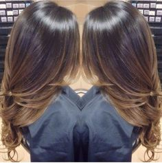 Found this on instagram, need this! Sun-kissed and calm balayage! Not so ombré which i love!! #caramel #balayage