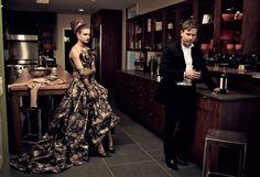 Natalia Vodianova and actor Ewan McGregor