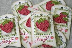 tag berry fuit strawberry strawberries Papertopia: Today