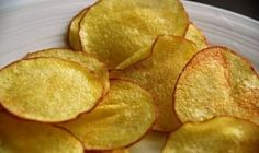 You Too Can Make These Crispy Potato Chips - It's Easier Than You Think! - Page 2 of 2 - Recipe Roost Potatoes In Microwave, Crispy Potatoes, Patatas Chips, Recipe Roost, Kettle Chips, Potato Crisps, Savoury Baking, Potato Dishes, Cooking Tips