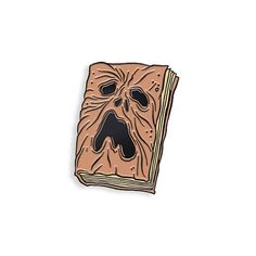 Necronomicon Enamel Pin by Alex Pardee by YesterdaysCo on Etsy