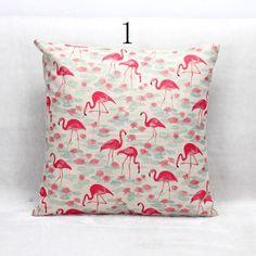 "18"" Real High Qulity Kiwi Bird Printed Decorative Cushion Cover Wild Boar Deer Throw Pillow Case Car Seat Pillowcases"