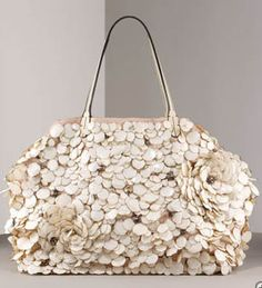 Valentino tote bag. Very glamorous! I love the flowers :)