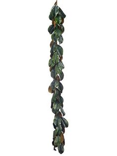 Dark Green Faux Magnolia Leaf Garland