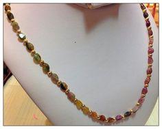 Now You KNOW :-) #eBayBid $19.99 #Watermelon #Tourmaline #Gemstone #Necklace #Fashion #Jewelry #FreeShipUSA