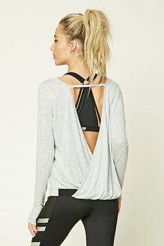 Active Surplice Back Top | Forever 21 - FitnessApparelExpress.com ♡ Women's Workout Clothes | Yoga Tops | Sports Bra | Yoga Pants | Motivation is here! | Fitness Apparel | Express Workout Clothes for Women | #fitness #express #yogaclothing #exercise #yoga. #yogaapparel #fitness #diet #fit #leggings #abs #workout #weight