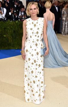 The Best Dresses at the 2017 Met Gala - Diane Kruger in Prada
