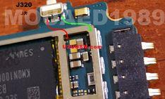 Samsung J3 J320H Power On Off Key Button Switch Jumper Ways