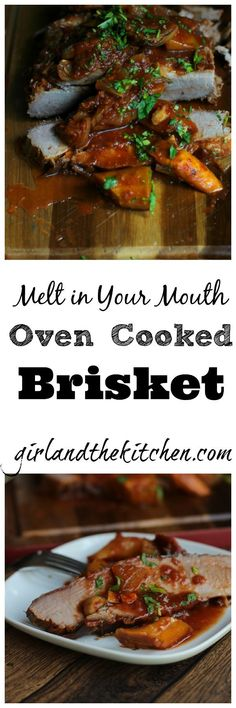 A simple and mouthwatering oven cooked brisket that is truly fuss free! Delicious, tender and FREEZER ENCOURAGED! This is the ULITMATE crowd pleaser