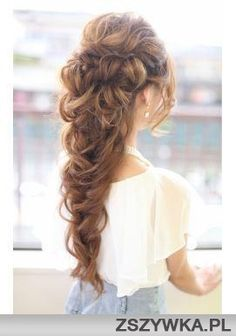 Look at this beautiful braid! Perfect for any special occasions.