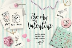 Valentines Day Love Quotes by Teneresa on @creativemarket