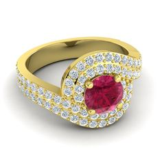 Ruby | Engagement Rings | Wedding Jewelry
