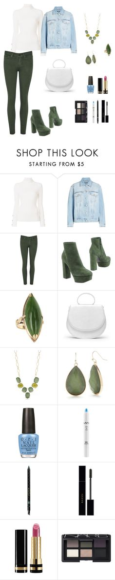 """Untitled #607"" by ladyasdis ❤ liked on Polyvore featuring See by Chloé, Alexander McQueen, Casadei, GRETCHEN, New Directions, OPI, NYX, Gucci and NARS Cosmetics"