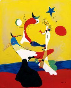 JOAN MIRÓ Composition (Petit univers) [Composition, Small Universe] (1933)