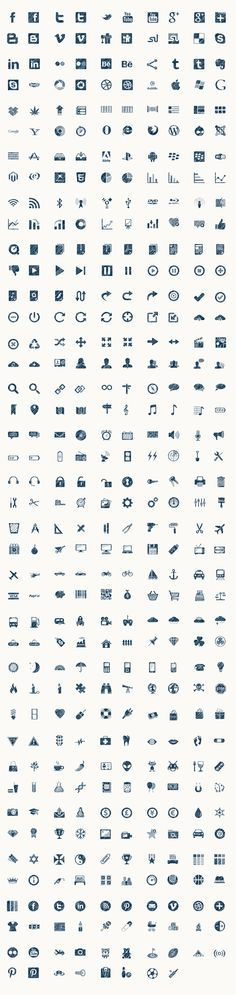 Uicons - Icons for Apps and Stuff - Glyphs - Icon Set