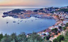 Wunderschöner Ausblick über den Hafen von Sóller